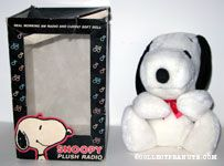 Snoopy plush Radio