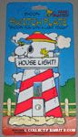 Snoopy & Woodstock on Lighthouse Switch Plate