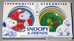 Snoopy & Woodstock Thermometer & Hygrometer set