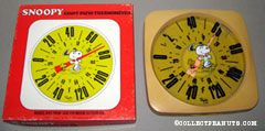 Snoopy & Woodstock dancing Patio Thermometer