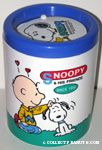 Charlie Brown scratching Snoopy desktop Wastebasket