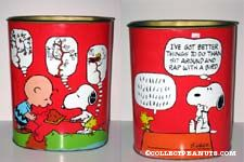 Snoopy and Woodstock Talking