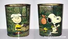 Charlie Brown with Binoculars