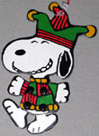 Peanuts & Snoopy Jointed Characters Christmas Ornaments