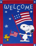 Peanuts & Snoopy American Theme Flags