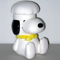 For Sale Chef Snoopy Cookie Jar
