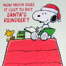 Snoopy Christmas Cards.For Sale Snoopy Christmas Cards Collectpeanuts Com