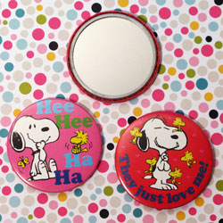 Click to view Snoopy & Woodstock Pocket Mirrors