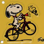 Peanuts Biking Collectibles
