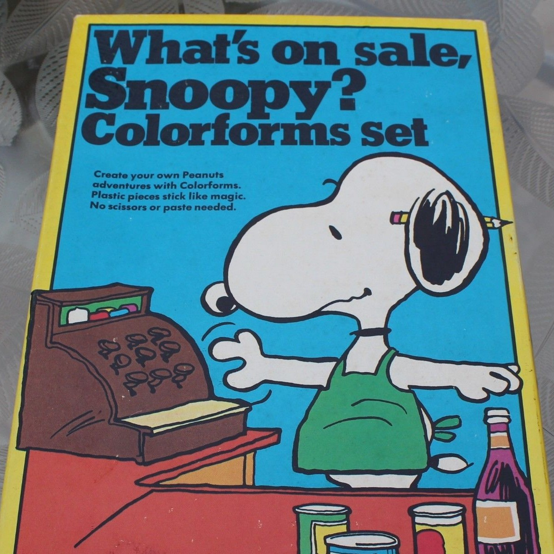 Snoopy Colorforms Set