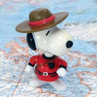 Canada Snoopy World Tour Series 1 Toy