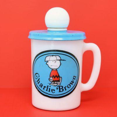 Charlie Brown Avon Shaving Mug