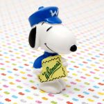 Snoopy mailman delivering Whitman's Chocolates Figurine