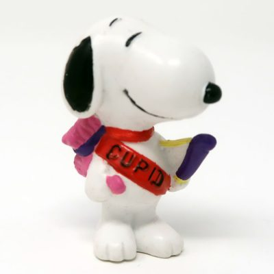 Snoopy cupid with bow and arrow Valentine's Day Figurine