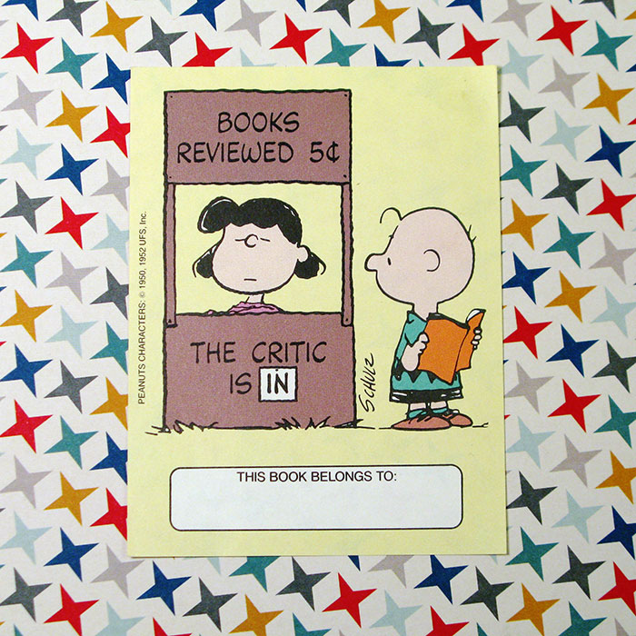 Lucy and Charlie Brown Bookplates