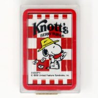 Knott's Berry Farm Snoopy Mini Playing Cards