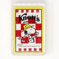 Knott's Berry Farm Snoopy Mini Playing Cards