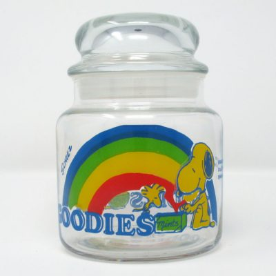 Snoopy & Woodstock Rainbow Goodies Jar - Small