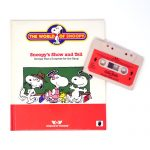 Snoopy's Show and Tell Tape and Book