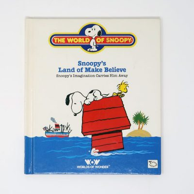 Snoopy's Land of Make Believe Book