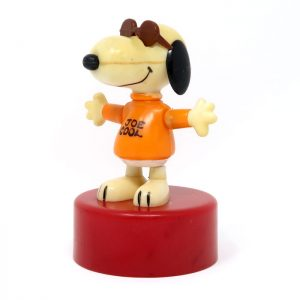Snoopy Joe Cool Push Puppet