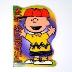 Charlie Brown wearing Baseball cap Coloring Book