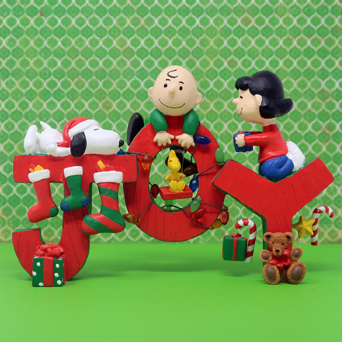 Peanuts  Joy  Christmas Figurine - CollectPeanuts.com f9496291884ee