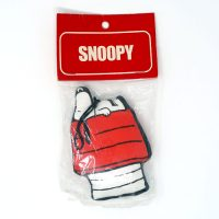 Snoopy laying on doghouse Fabric Stuffed Mini Mascots Ornament