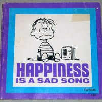 Happiness is a Sad Song Peanuts Book