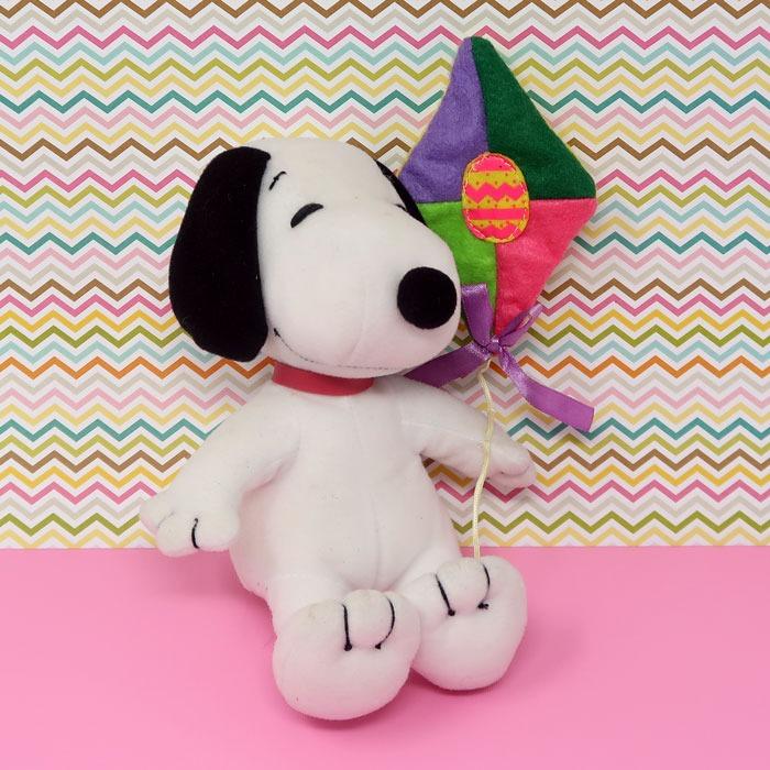 Snoopy holding kite Easter Plush