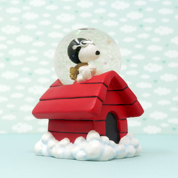 Snoopy Flying Ace Snow Globe