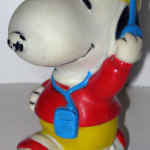 Jogger Snoopy Squeaky Toy