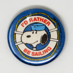 Sailor Snoopy Button