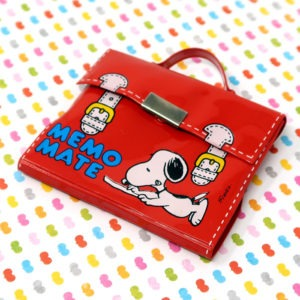 Snoopy Briefcase Notepad