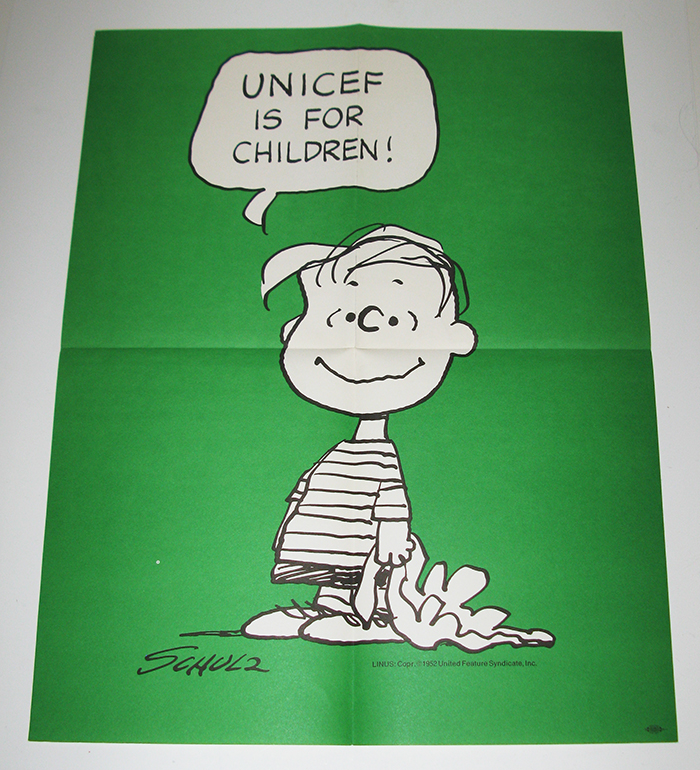 Linus UNICEF Poster