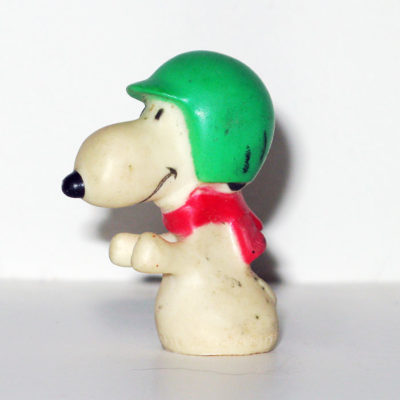 Snoopy Scooter Shooter Figurine