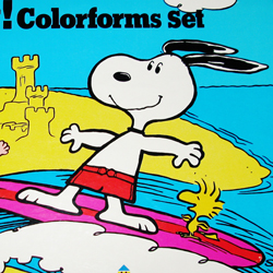 Snoopy Colorforms