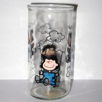 Lucy on Swing Jelly Jar Glass