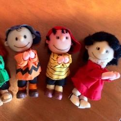 Peanuts Gang Clip-on Dolls