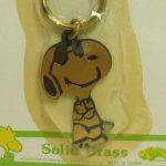 Snoopy Brass Keychain by Aviva