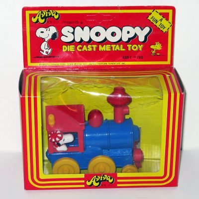 Snoopy Die-cast Train Engine