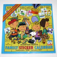 Snoopy & Woodstock School Year Calendar - 1999-2001