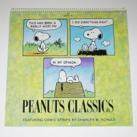 Peanuts Classics 1997 Calendar