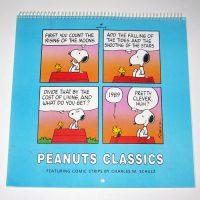 Peanuts Classics 1989 Calendar