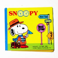 Tourist Snoopy Sticker Book