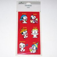 Snoopy & the Daisy Hill Puppies Birthday Stickers