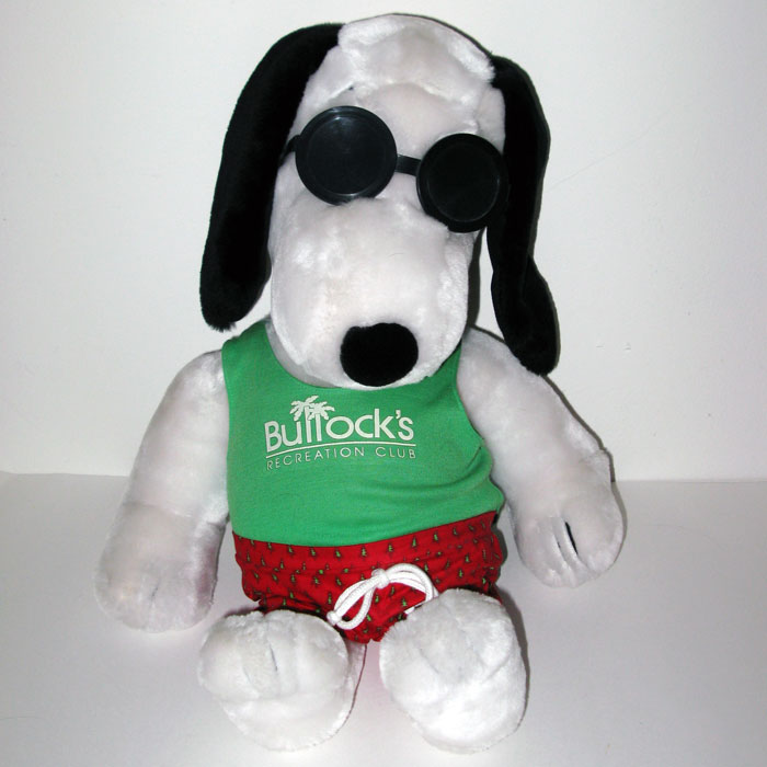 Bullock S Recreation Club Plush Snoopy Doll Collectpeanuts Com