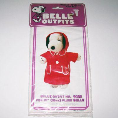"""Belle Rain Slicker Outfit for 10"""" Plush"""
