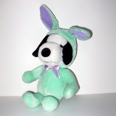 Snoopy Green Easter Beagle Plush