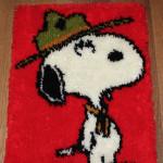 Snoopy Latch Hook Rug
